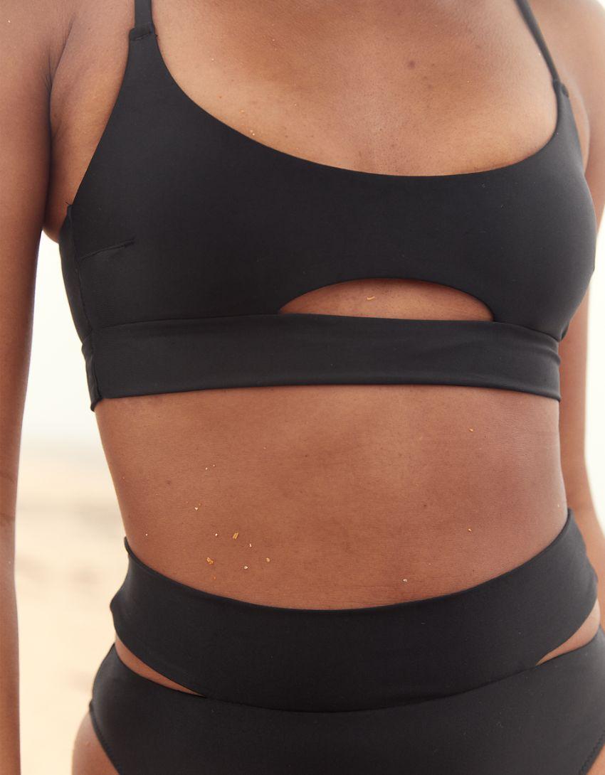 Aerie Split Scoop Bikini Top