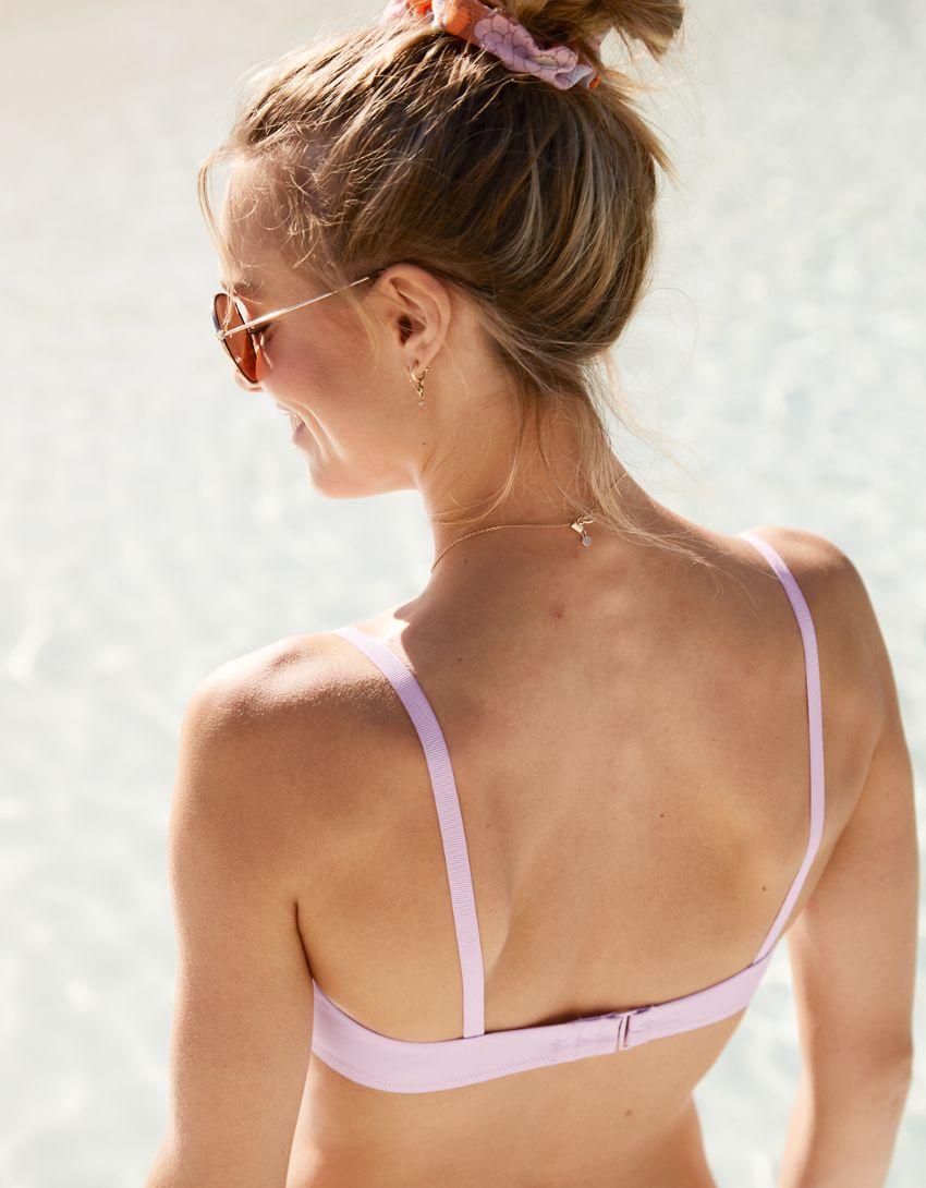 Aerie Ruched Scoop Bikini Top