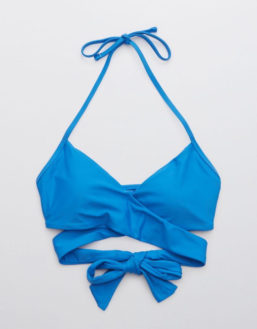 Aerie Wrap Halter Bikini Top