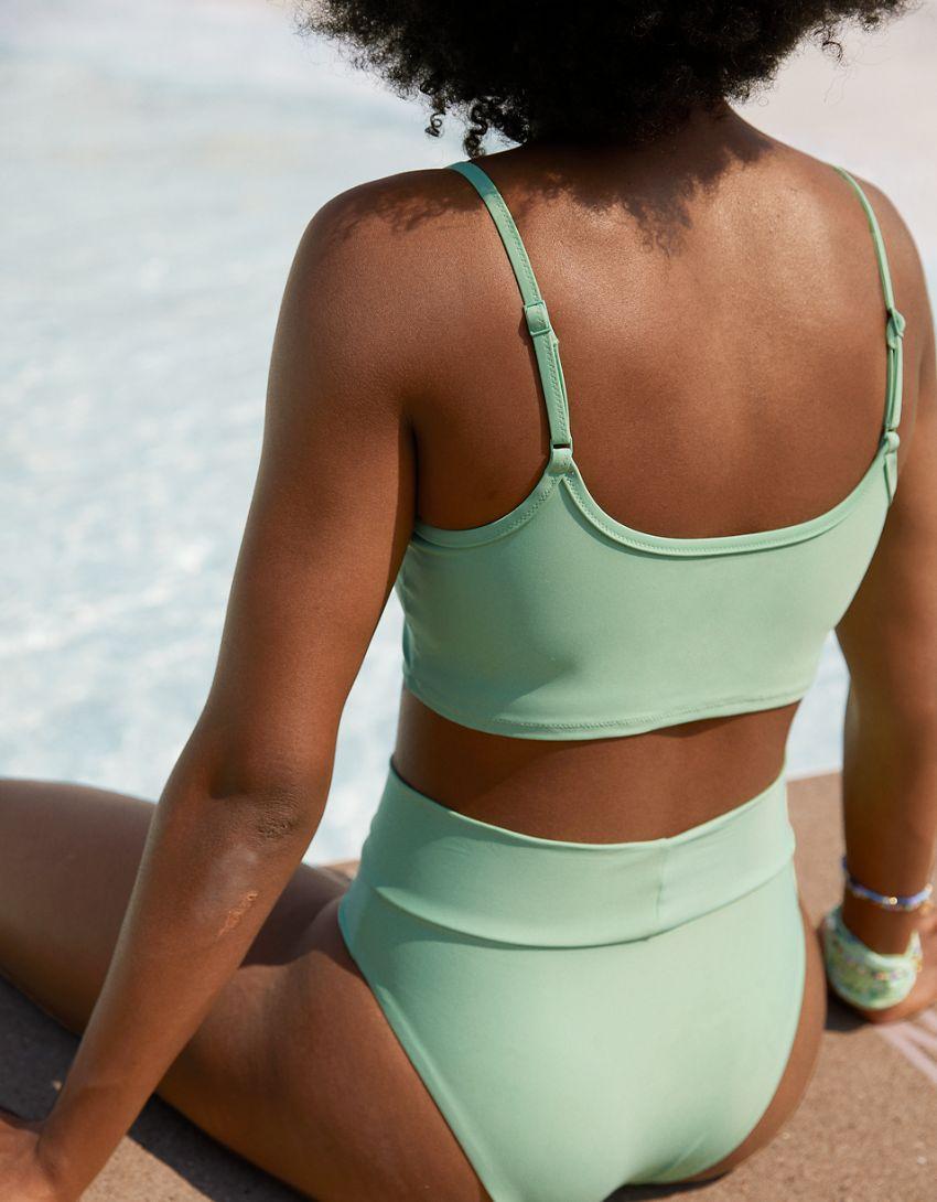 Aerie Longline Scoop Bikini Top