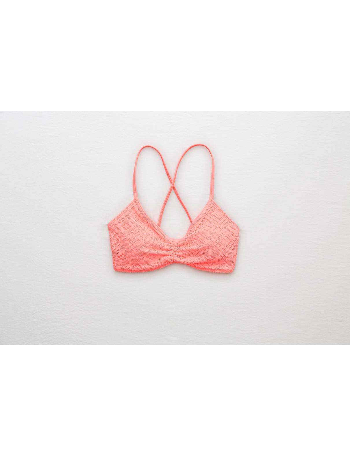 Display product reviews for Aerie Scoop Crochet Bikini Top