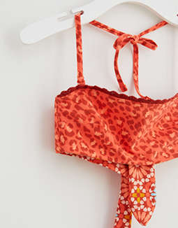 Aerie Inside or Out Bandeau Bikini Top