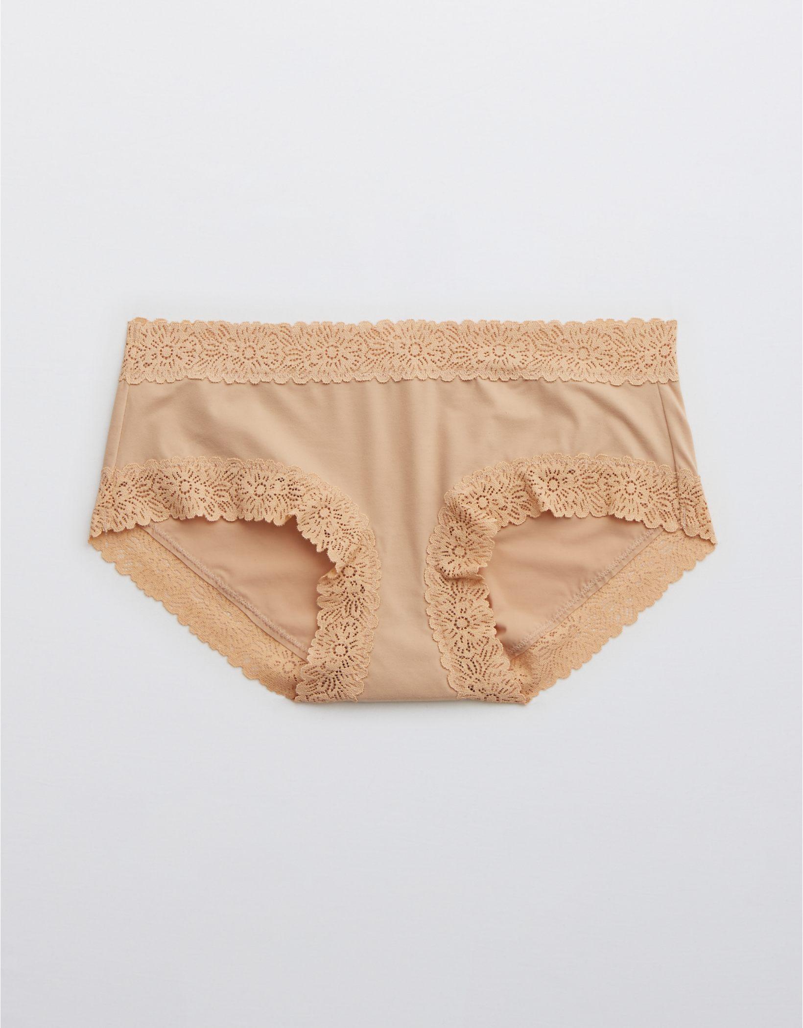 Aerie Sunnie Blossom Lace Boybrief Underwear