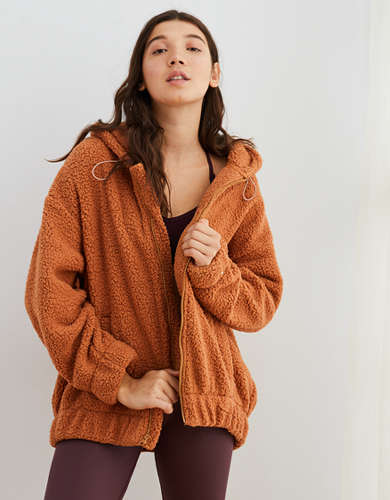 Aerie Cloud Sherpa Oversized Jacket