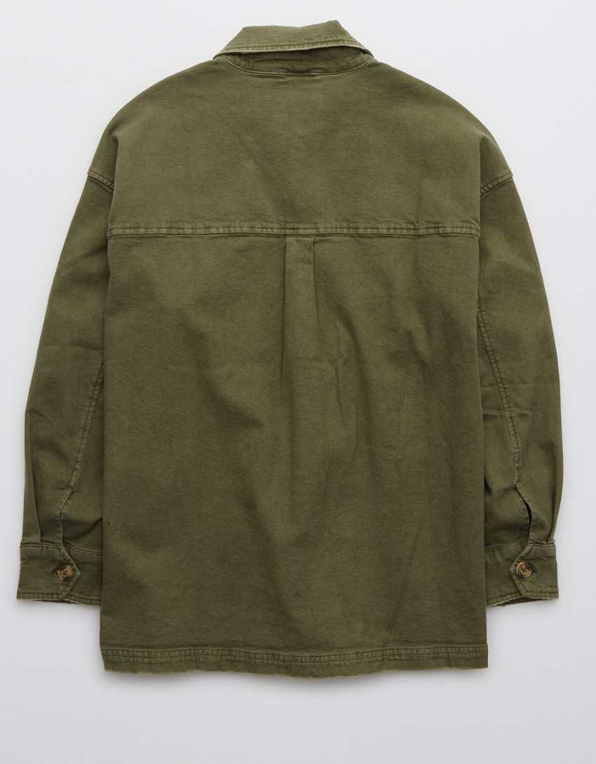 Aerie Military Shacket