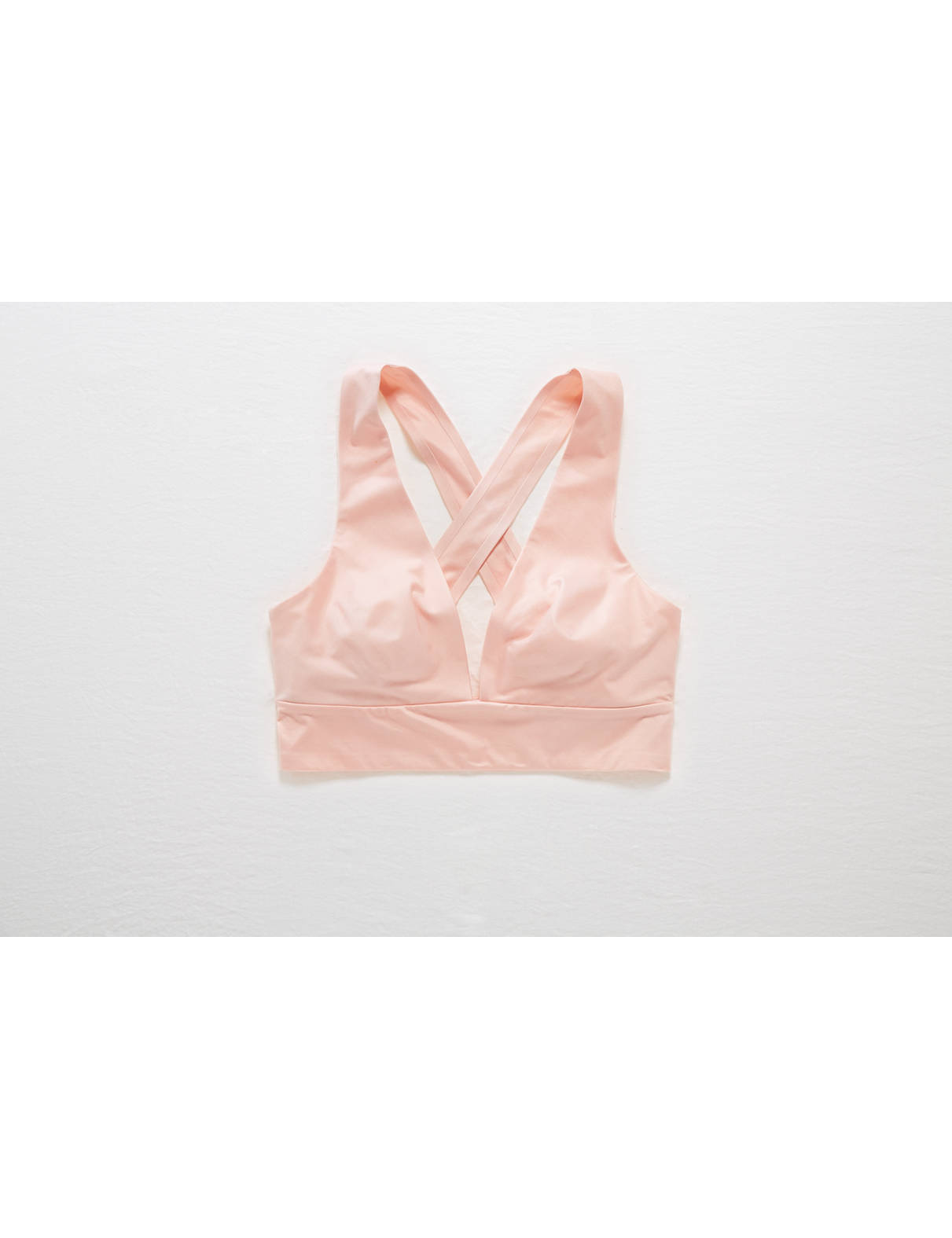 Display product reviews for Aerie Sunnie Chill Plunge Sports Bra