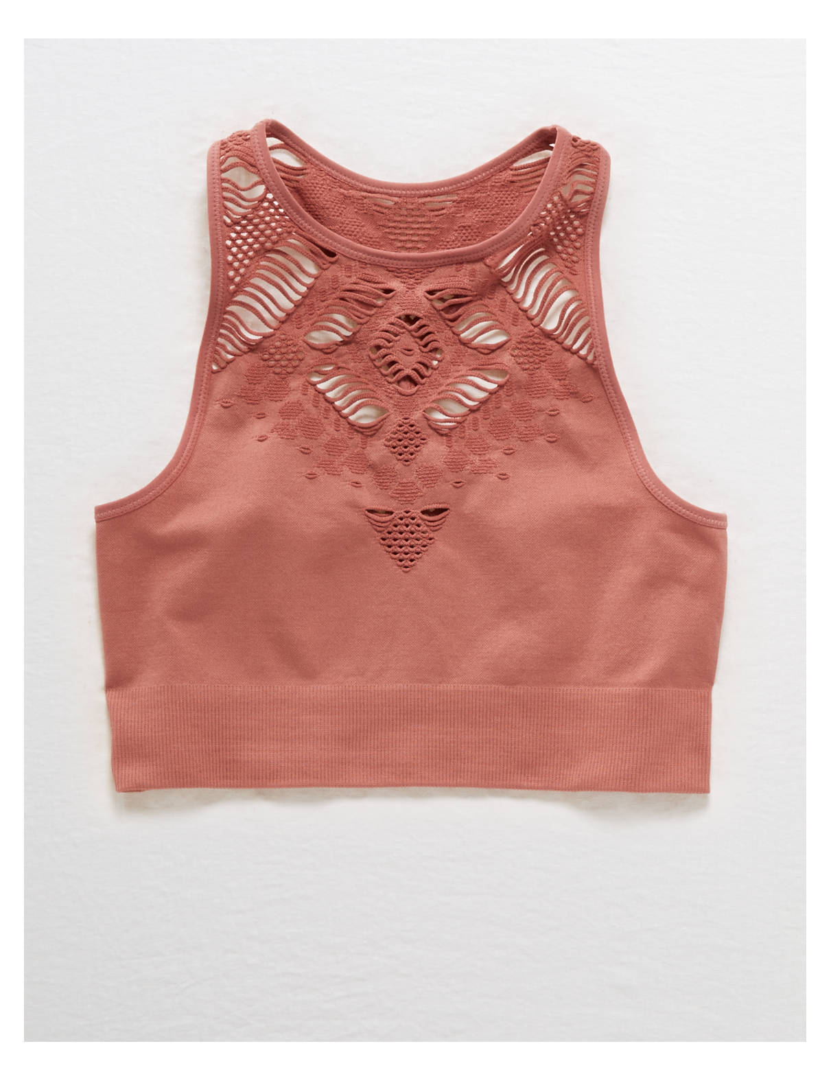 Display product reviews for Aerie CHILL Seamless High Neck Bralette
