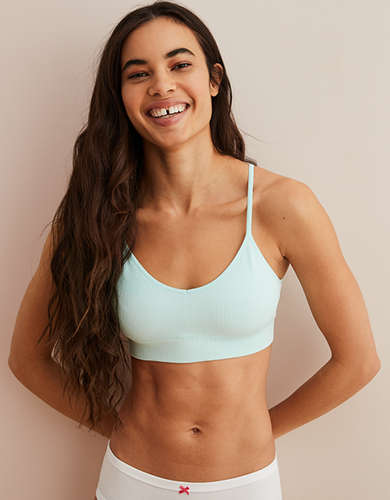 Aerie Chill Waffle Classic Bralette