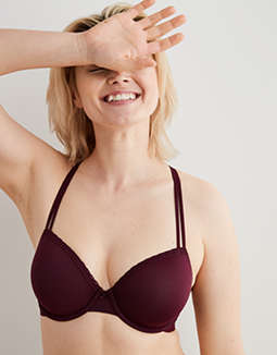 Aerie Real Happy Demi Lightly Lined Bra