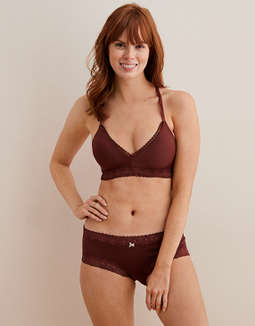 Aerie Real Happy Wireless Lightly Lined Bra