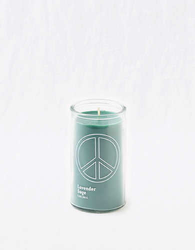 Paddywax Spark 5 OZ Candle - Green Peace Lavender/Sage