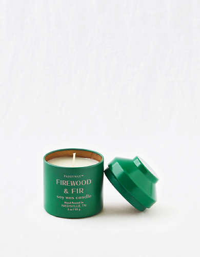 Paddywax Whimsy Candle - Firewood and Fir