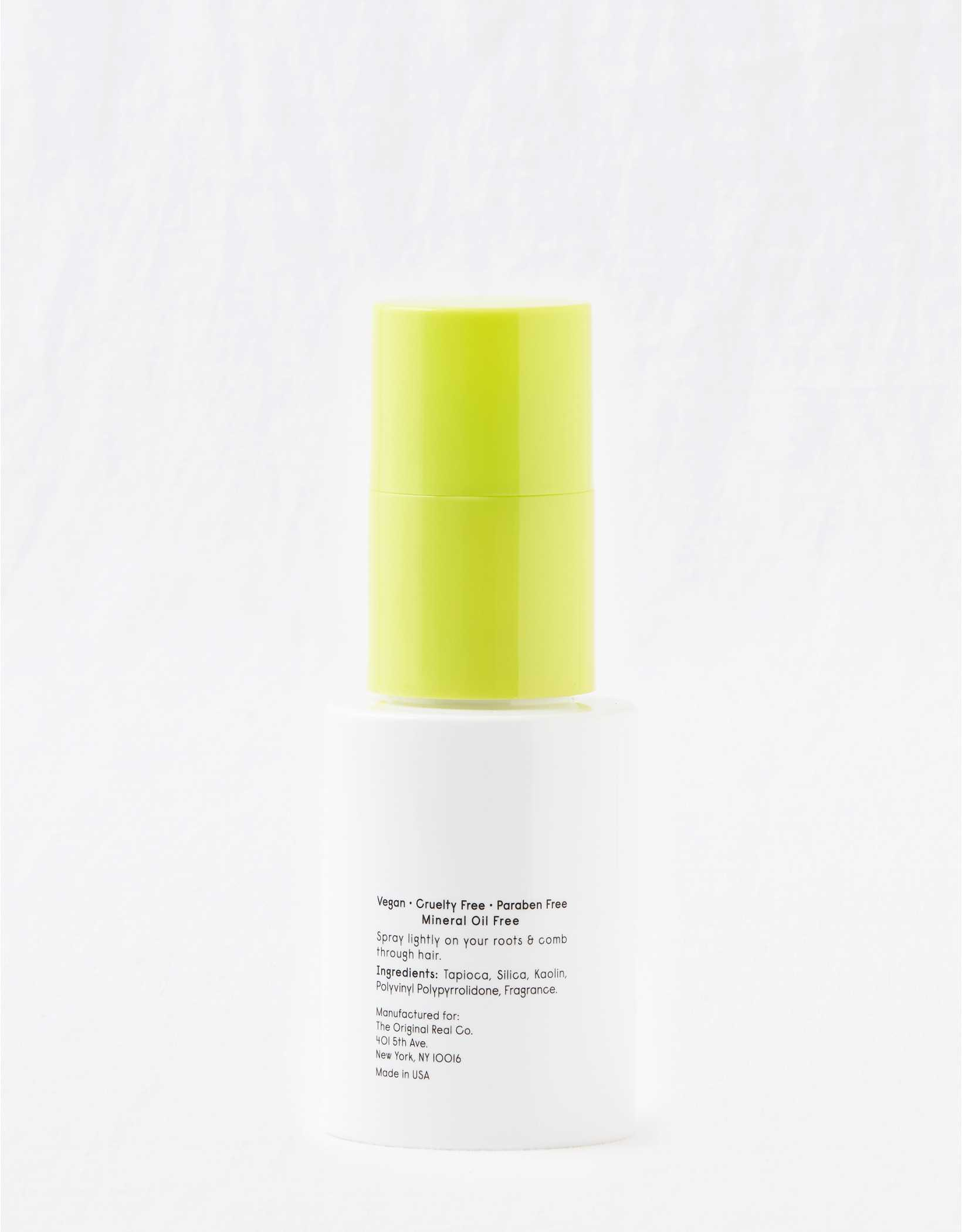 Minimal-ish Dry Shampoo