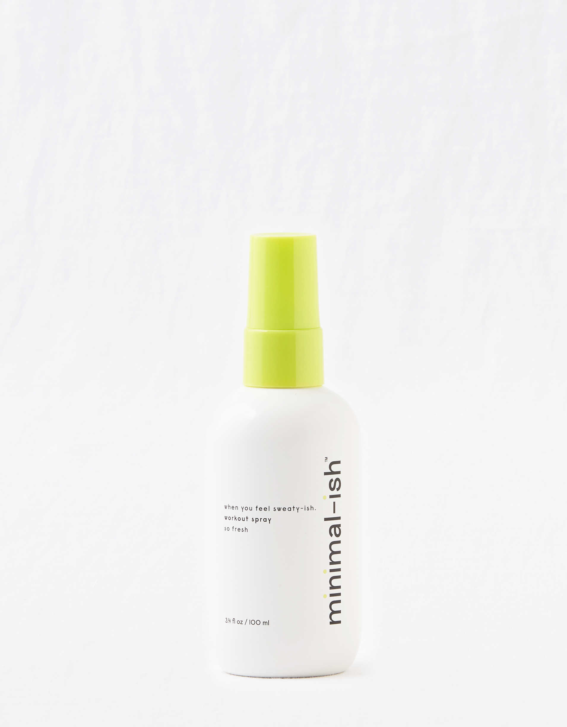 Minimal-ish Workout Spray