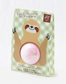 Smitten Sloth Mini Bath Bomb
