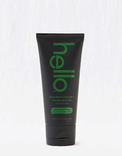 Hello Charcoal + Hemp Toothpaste