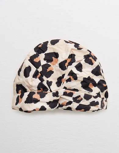 Kitsch Leopard Shower Cap