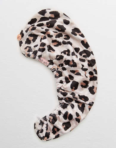 Kitsch Leopard Hair Towel