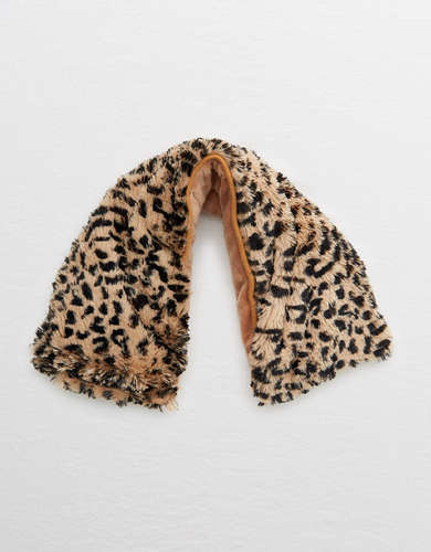 Warmies Leopard Neck Wrap