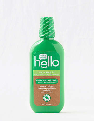 Hello Products Hemp Seed Oil Mouthwash