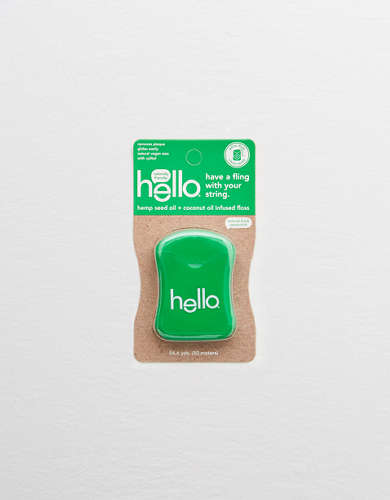 Hello Products Hemp Seed Oil Floss