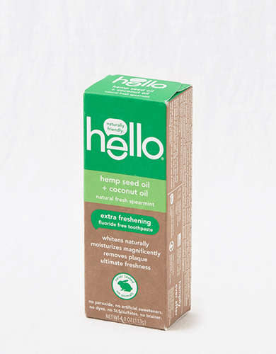 Hello Products Hemp Seed Oil Flouride Free Toothpaste