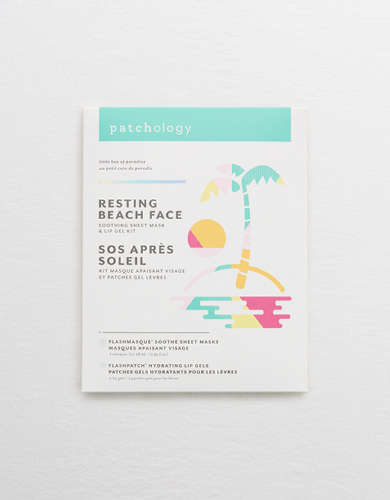 Patchology Resting Beach Face Mask Pack