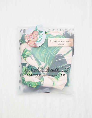 KITSCH Shower Cap - Palm