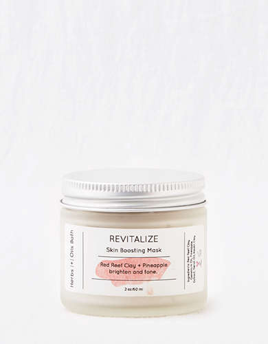 Herbs + Oils Bath Revitalize Facial Mask -