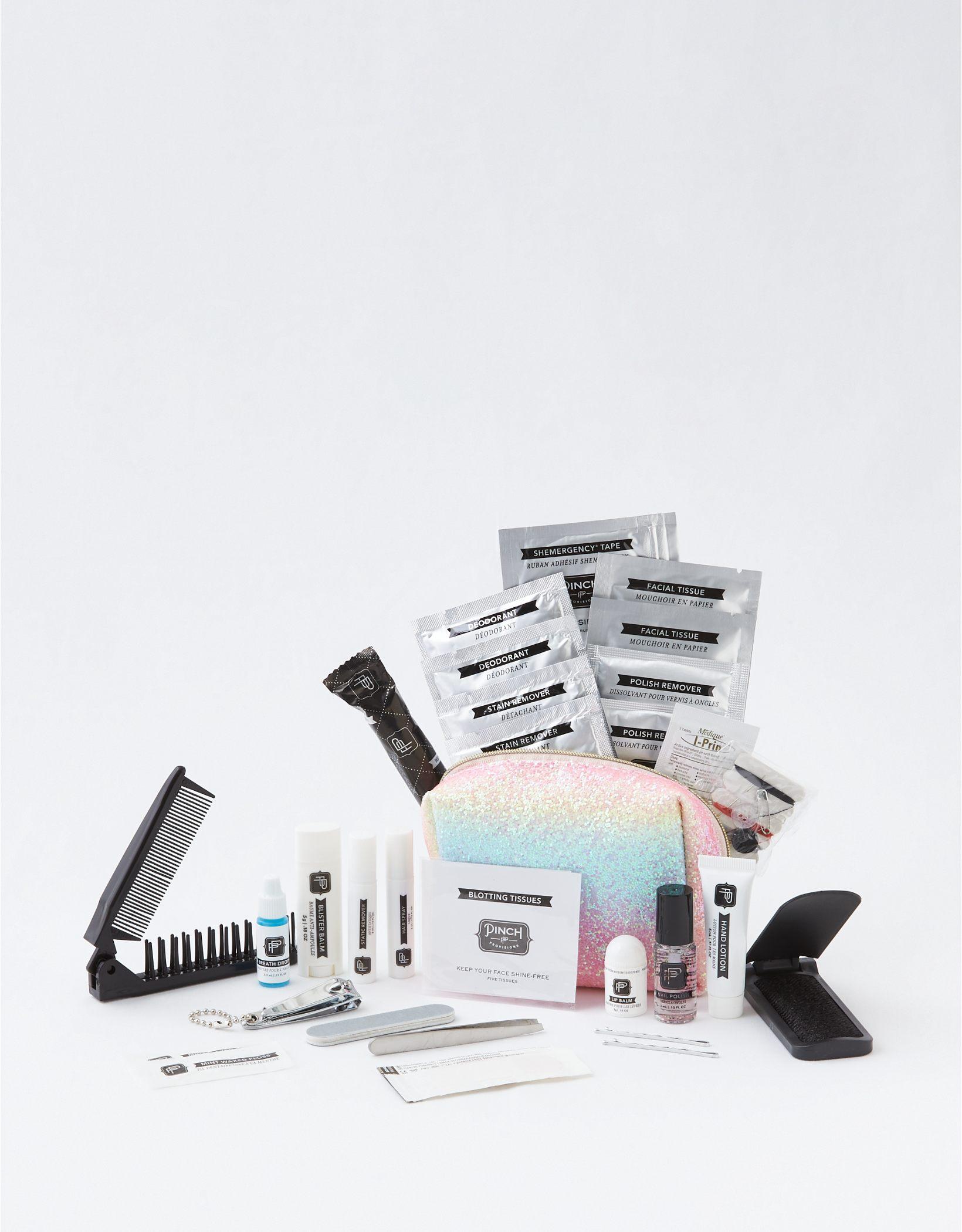 Pinch Rainbow Glitter Shemergency Kit