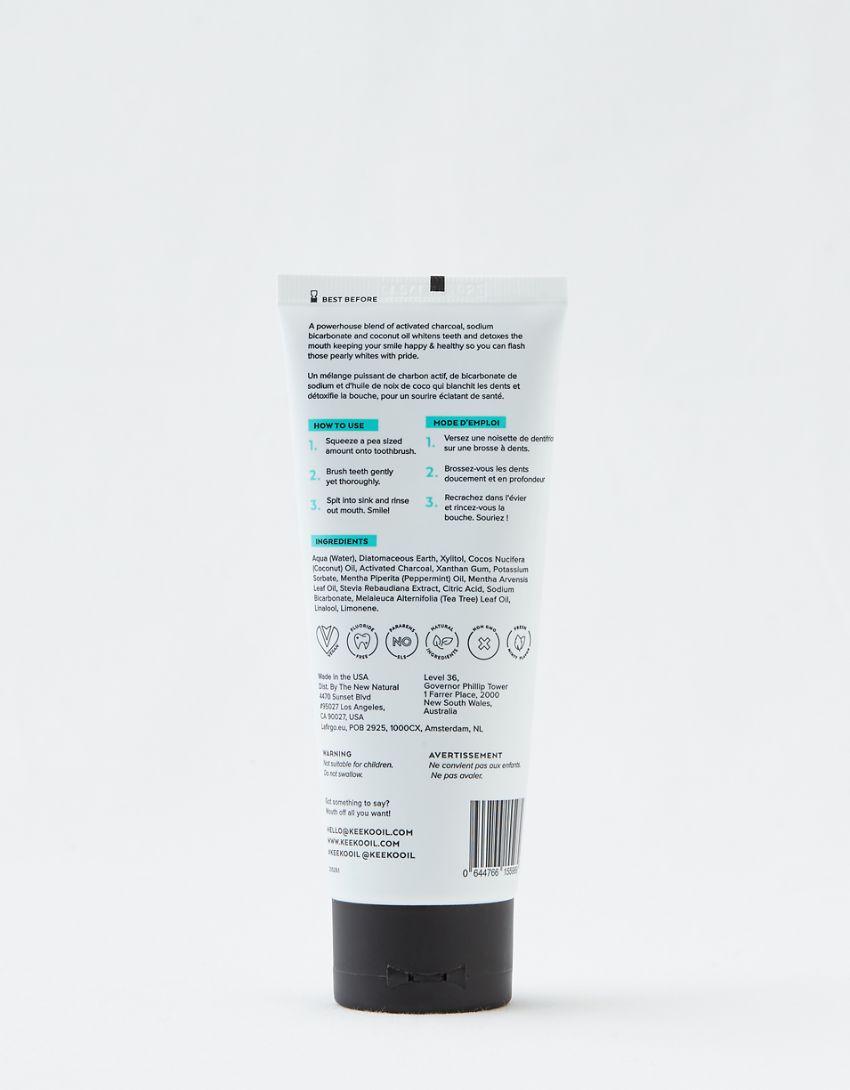 Keeko Superclean Charcoal Toothpaste