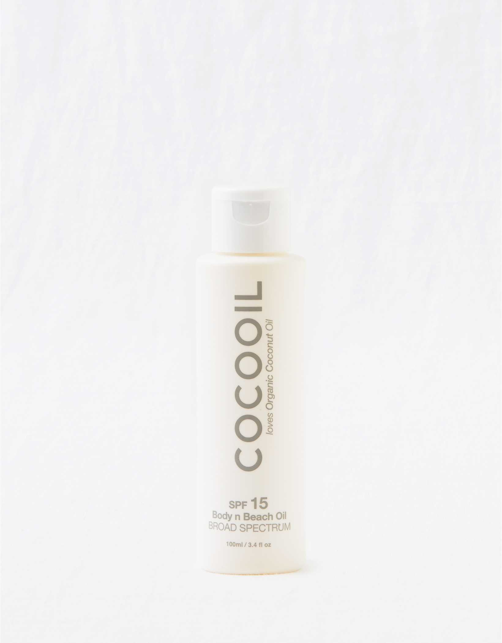 Cocooil Body & Beach Oil SPF 15 3.4 Oz