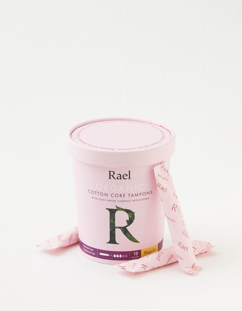 Rael Organic Cotton Core Tampons