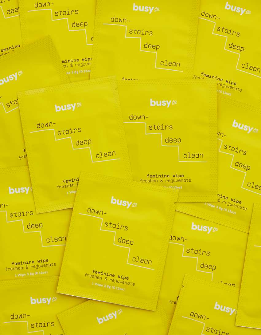 Busy Beauty Calm Glow Face Wipes