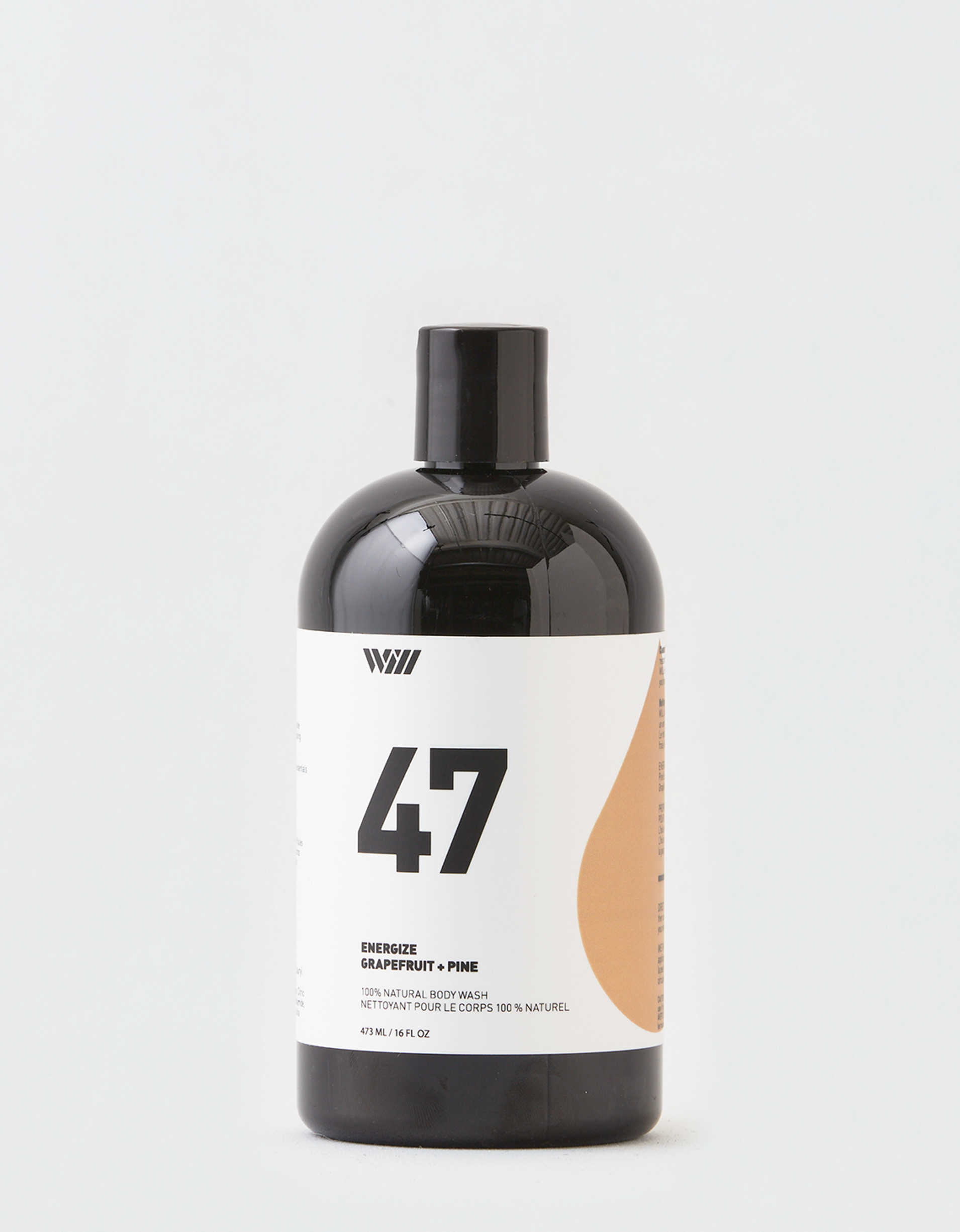 Way of Will #45 Energize Natural Body Wash