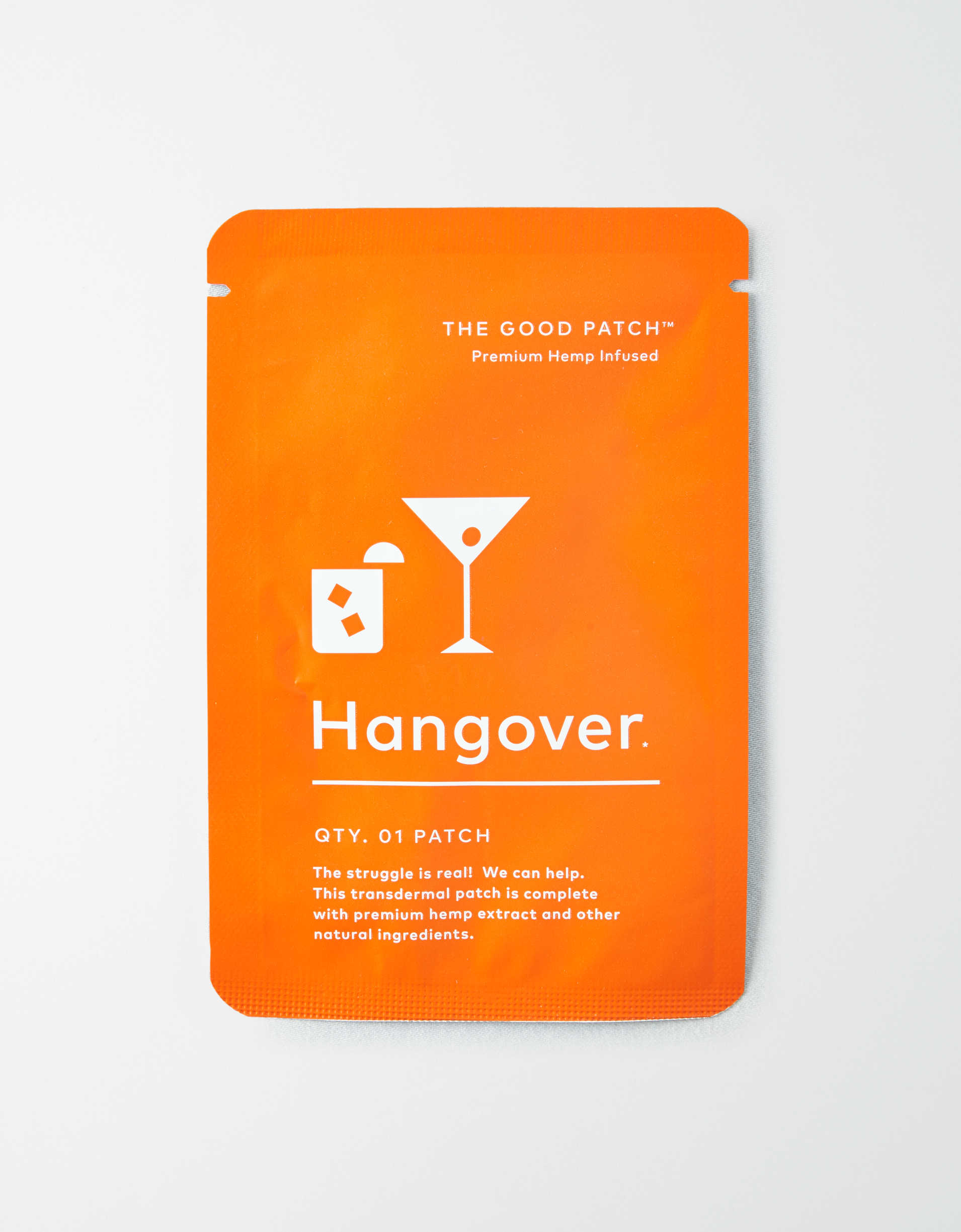 The Good Patch-HANGOVER HEMP INFUSED