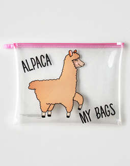 Alternatives Alpaca Pouch by American Eagle Outfitters