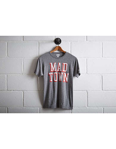 Tailgate Men's Wisconsin Badgers Mad Town T-Shirt -