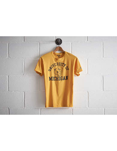 Tailgate Men's Michigan Biff T-Shirt - Free Returns