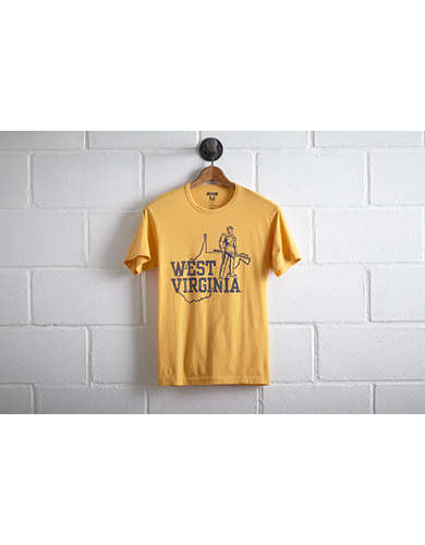 Tailgate Men's West Virginia T-Shirt - Free Returns