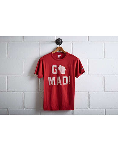 Tailgate Men's Wisconsin Go Mad! T-Shirt -