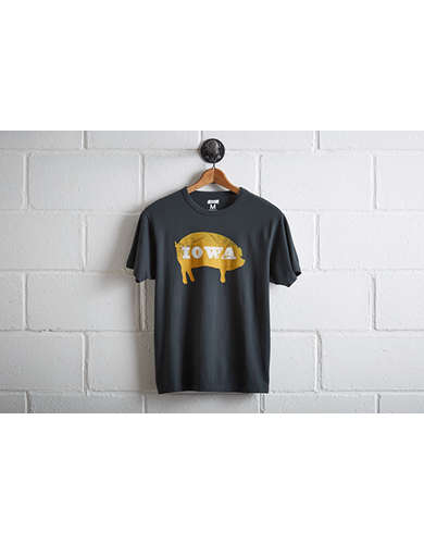 Tailgate Men's Iowa Pig T-Shirt - Free Returns