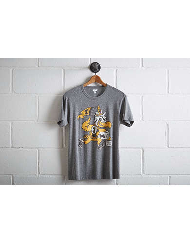 Tailgate Men's Iowa Herky the Hawk T-Shirt - Free Returns