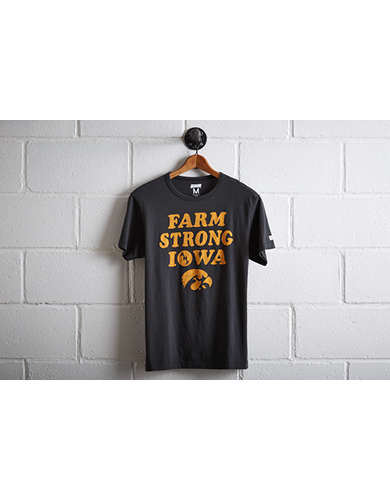 Tailgate Men's Iowa Hawkeyes Farm Strong T-Shirt - Free returns