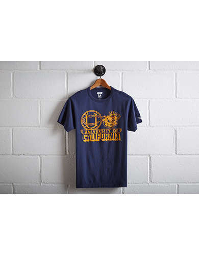 Tailgate Men's UC Berkeley Mascot T-Shirt - Free Returns