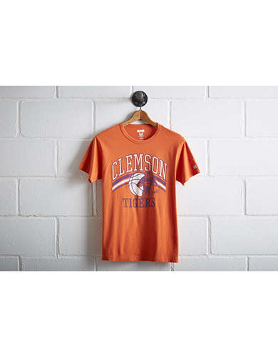 Tailgate Men's Clemson Tigers Basketball T-Shirt -