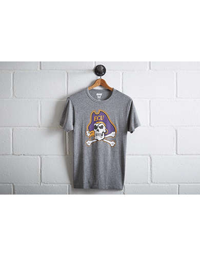Tailgate Men's ECU Pirates Big Mascot T-Shirt - Free Returns