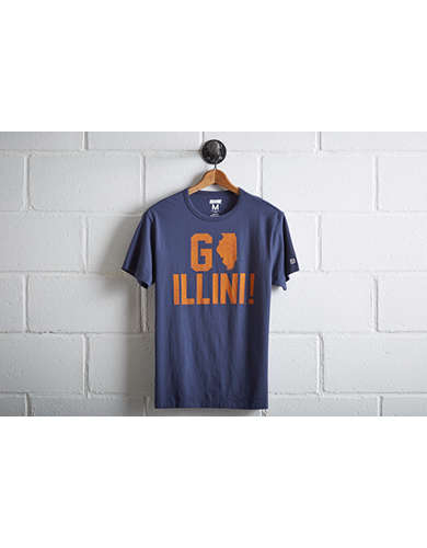 Tailgate Men's Illinois Fighting Illini T-Shirt -