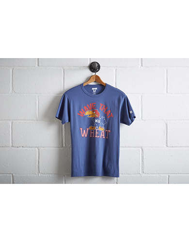 Tailgate Men's Kansas Jayhawks Wheat T-Shirt -
