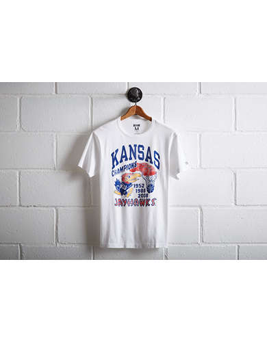 Tailgate Men's Kansas Jayhawks Basketball T-Shirt -